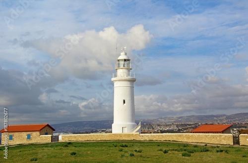 Foto op Plexiglas Cyprus Paphos Lighthouse in Cyprus