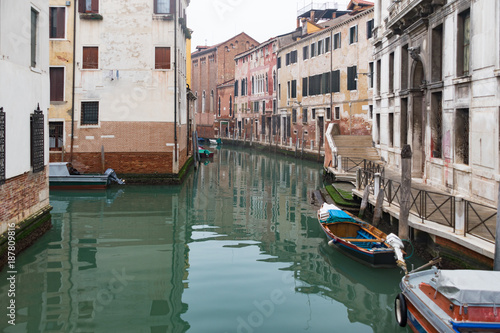 Venice traditional Canal , Italy