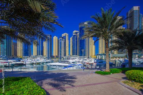 Keuken foto achterwand Dubai Dubai cityscape on a sunny day
