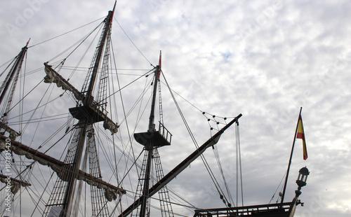 Aluminium Schip Old ship photo