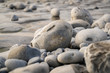 The stones of Monknash Beach, Vale of Glamorgan, Wales, UK