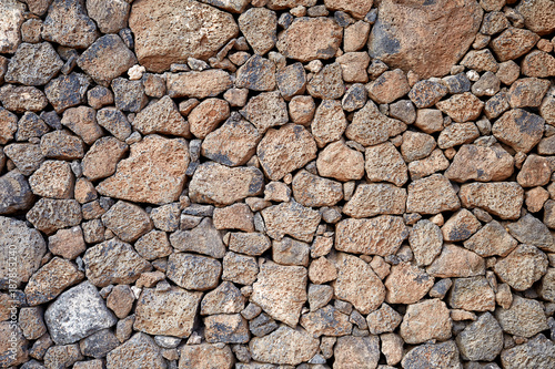 Foto op Canvas Stenen volcanic stones background