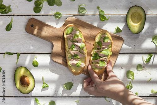 Foto Murales Healthy breakfast