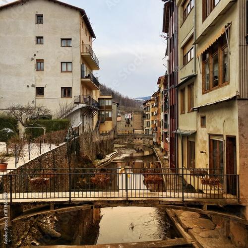 Camprodon in Girona, Spain - 187860449