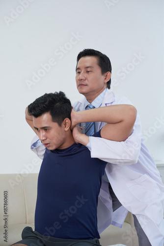 Foto Murales Working with patient