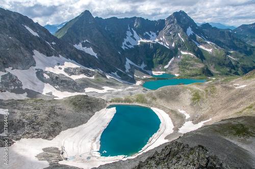 Foto op Canvas Bergen Имеретинские озера