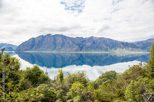 Foto op Canvas Bergen New Zealand