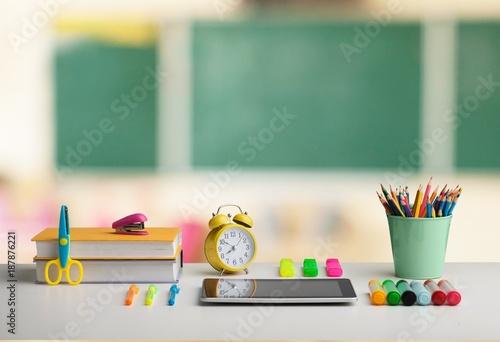 Foto Murales Classroom.