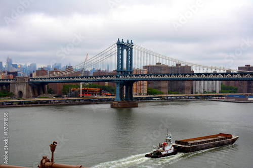 Fotobehang Brooklyn Bridge Pictures of New York City