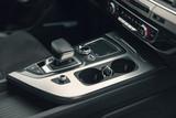 gear lever in the modern car, detail Interior