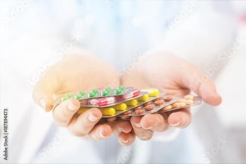 Fotobehang Apotheek Pharmacist.