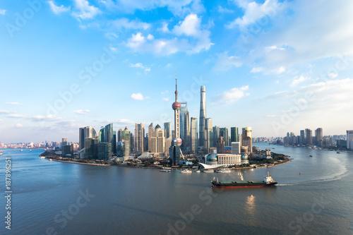 Staande foto Shanghai Shanghai skyline and cityscape