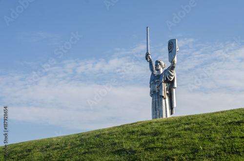 Fotobehang Kiev Monument to Motherland in Kyiv