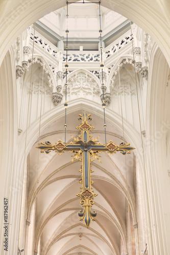 Keuken foto achterwand Antwerpen Cross of the cathedral in Antwerp