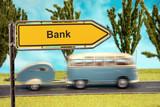 Schild 154 - Bank