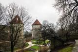Old tower gates in Toompea, Tallinn