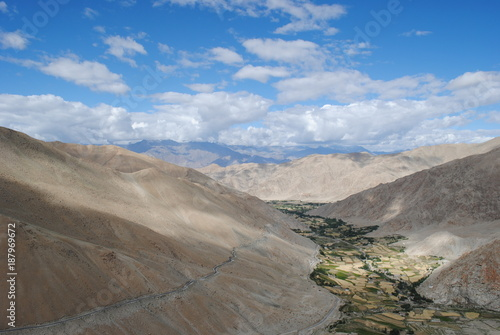 Aluminium Blauwe hemel Ladakh