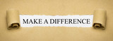 Make a difference - 187972077