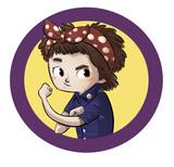 niña obrera feminista - 187979264