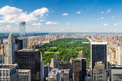 Foto Murales Central Park im Sommer in New York City, USA