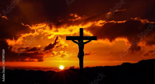 Staande foto Bruin Holy week 1