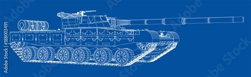 Plan realistyczny czołg