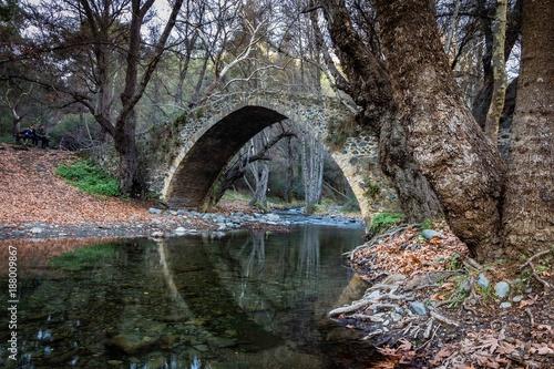 Fotobehang Bruggen Cyprus Reflections