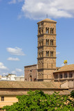 Bell Tower Santa Francesca Romana, Roman Forum, Rome, Italy