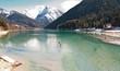 Auronzo Lake, Dolomites Mountains, Italy