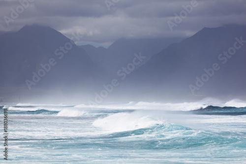 Fototapeta Maui Winter Surf, Hawaii