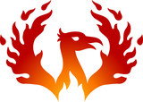 Phoenix bird logo - 188038845
