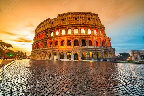 Rzym, Koloseum. Włochy.