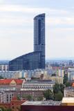 Sky Tower, modern skyscraper in Wroclaw, Poland.