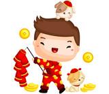 Boy Chinese New Year