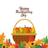 Happy thanksgiving day design - 188057867