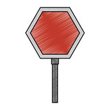 stop traffic signal icon
