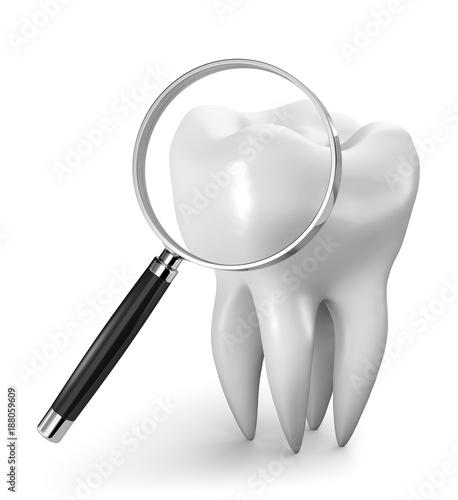 Fototapeta ricerca dentale