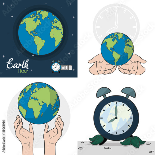 Earth Hour design - 188063086