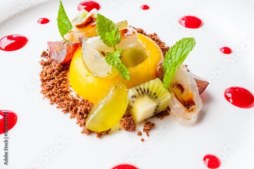 dessert aux fruits frais