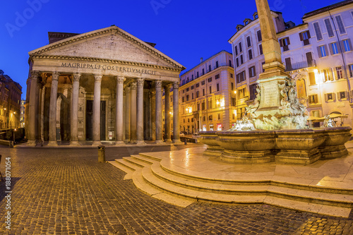 Foto Spatwand Rome italy, rome, pantheon