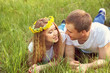 Young happy couple in love outdoors - 188074269
