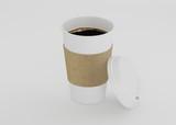 plastic coffee cup - 188075247
