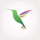 Hummingbird logo - 188079668