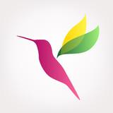 Hummingbird logo - 188079679