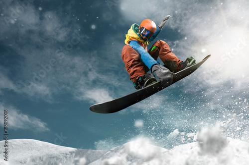 Foto Murales Snowboarding