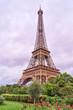 Eiffel tower up close. Paris