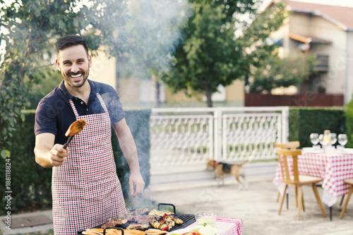 Foto Murales Barbecue