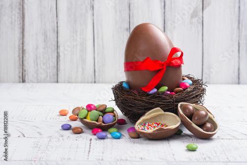 Foto Murales Easter chocolate egg