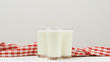 Natural lactose milk product. Calcium vitamin D healthy drink. Organic nutrition
