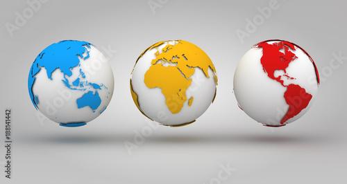 Colorful World Background
